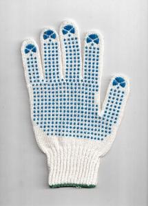 Перчатки рабочие хб 4 нити с ПВХ