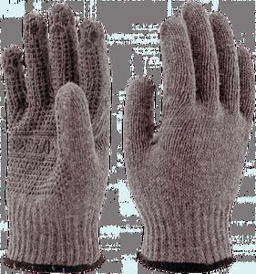 Перчатки полушерстяные ЗИМА®ПВХ
