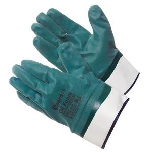Перчатки - краги со вспененным нитрилом Gward Oil Foam