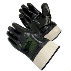 Перчатки Gward NKP Black Чёрные КЩС/МБС нитриловые краги