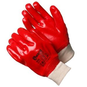 Перчатки МБС с ПВХ покрытием с манжетом-резинкой Gward Ruby