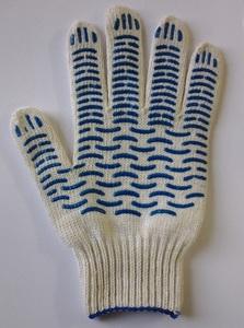 Перчатки рабочие хб 6 нитей с ПВХ  СУПЕРЛЮКС