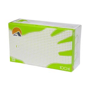 Перчатки смотровые латексные опудренные, текстурированные, натуральный