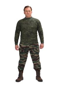 """Толстовка кмф 3-нитка с начесом """"Зеленая цифра"""""""