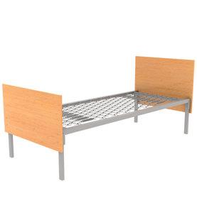 Кровать металлическая для хостела