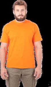 Футболка 160 г/м2 оранжевая