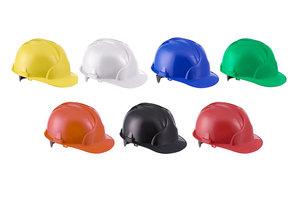 Каска строительная ЛИДЕР цвет в ассортименте