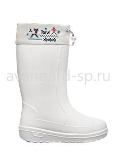 "Сапоги ""Torvi"" женские Т40, белые"