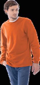 Толстовка оранжевая